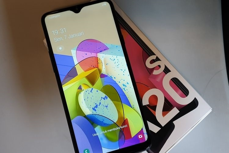 review Samsung Galaxy A20
