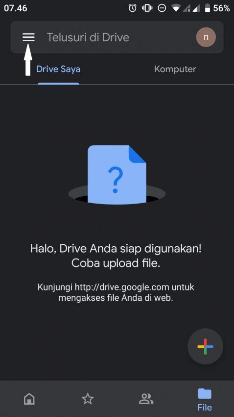 hapus foto di google drive