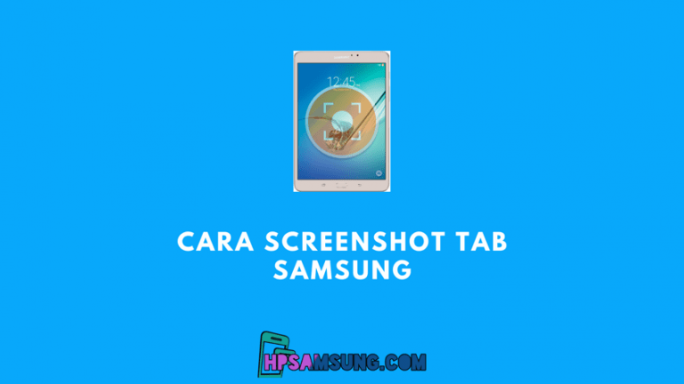 cara screenshot samsung tab