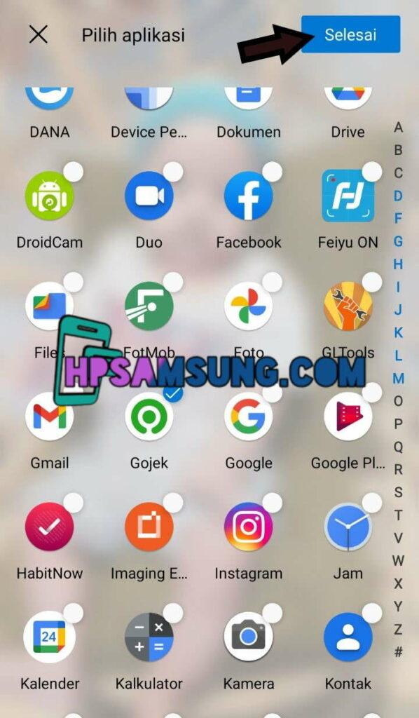 cara menyembunyikan aplikasi di hp samsung a02s